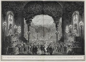 PARIS 1745 -- Fètes publiques