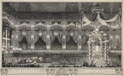 PARIS 1745 -- [PRINTS]. COCHIN