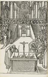 REIMS 1547 -- Le sacre et cour