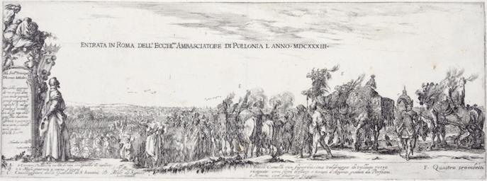 ROME 1633 -- [PRINTS]. DELLA B