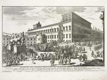 ROME 1692 -- [PRINTS]. WOUTERS