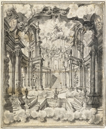 ROME CA 1711 -- JUVARA, Attrib