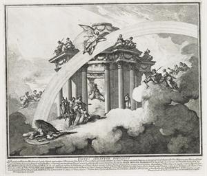 ROME 1722-1749 -- [PRINTS]. A