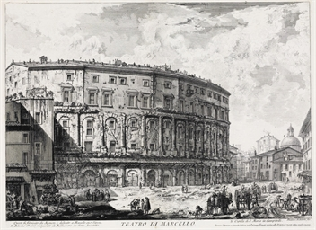 ROME -- [PRINTS]. PIRANESI, Gi