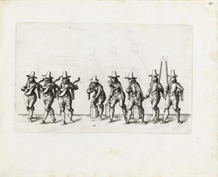STUTTGART 1617 -- HULSEN, Esai