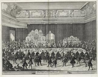 VIENNA 1744 -- [PRINTS]. Two e