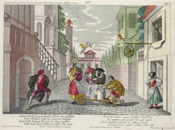 VIENNA 1764 -- [PRINTS]. SILLE