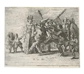 THEATER -- de WAEL, Cornelis.
