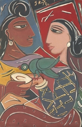 Untitled (Radha and Krishna wi