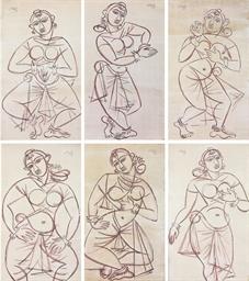 Untitled (Six Dancers)