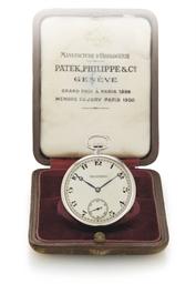 PATEK PHILIPPE. A PLATINUM OPE