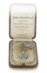 PATEK PHILIPPE. A LADY'S 18K G