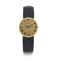 PIAGET.  AN 18K GOLD WRISTWATC