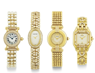 CARTIER.  A LOT OF FOUR LADY'S
