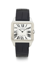 CARTIER.  A LARGE 18K WHITE GO