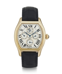 CARTIER.  AN 18K  PINK GOLD AU