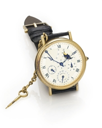 BREGUET. A VERY FINE 18K GOLD