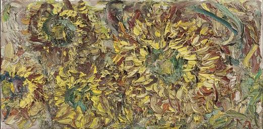 Zonnebloemen Herfst III