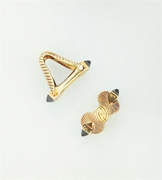 A pair of cuffllinks, by Bouch