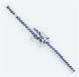 A diamond and sapphire flexibl