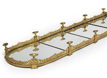 AN EMPIRE ORMOLU FIVE SECTION SURTOUT-DE-TABLE