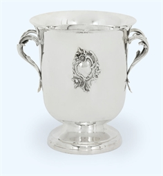 A FRENCH SILVER ICE-BUCKET