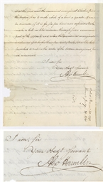 [TREASURY SECRETARIES]. A COLL