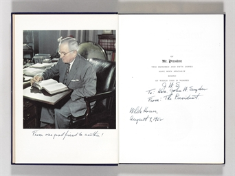 TRUMAN, Harry S. Mr. President