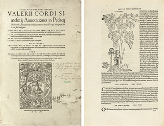 CORDUS, Valerius (1515-1544).