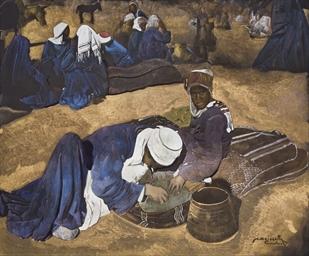 Scène de souk, Marrakech