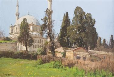 La mosquée d'Eyüp, Istanbul