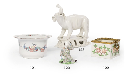 MORTIER EN PORCELAINE TENDRE D