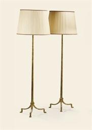 PAIRE DE LAMPADAIRES MODERNES