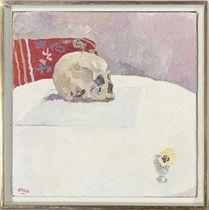 Skull + Pansy