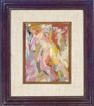 Figure of Venus #11; and a companion painting