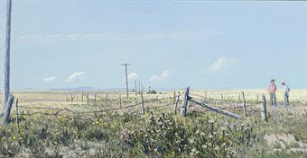 Prairie Crossroad