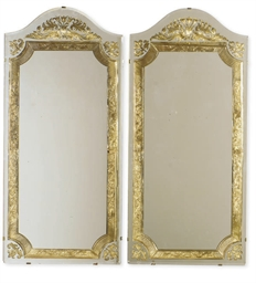 A PAIR OF VENETIAN PIER MIRROR