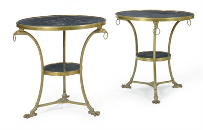A PAIR OF FRENCH BRONZE AND FO