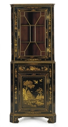 AN ENGLISH BLACK AND GILT-JAPA