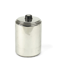 A Dutch silver biscuit box and