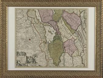Visscher, N., 'Hollandiae pars