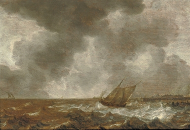 Shipping in stormy waters