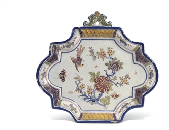 A Dutch Delft polychrome Chino