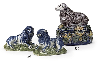 A Dutch Delft polychrome butte