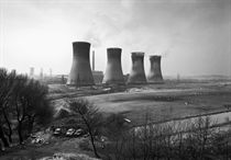 Agecroft Power Station, Salford, 1983
