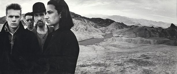 U2, Death Valley, 1986