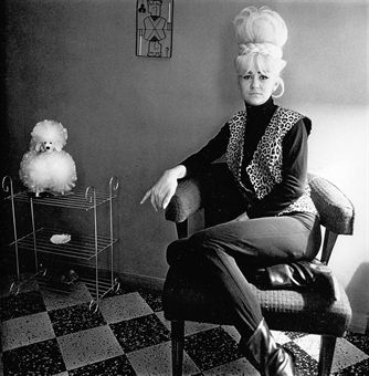 Lady Bartender at Home by Diane Arbus