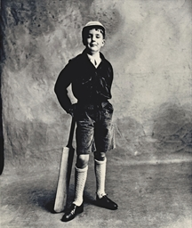 Young Cricketer (Adam Roundtre
