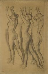 Trois danseuses en maillot, le
