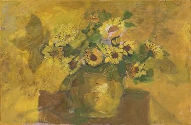 Bouquet de fleurs (recto); Nat